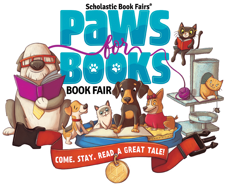 paws for books book fair image
