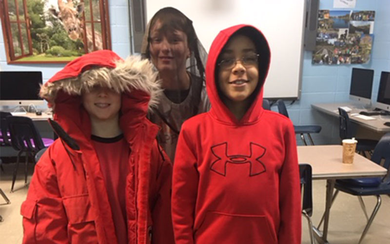 Students Gear Up for Mrs. Seff's Polar Trec this Summer!