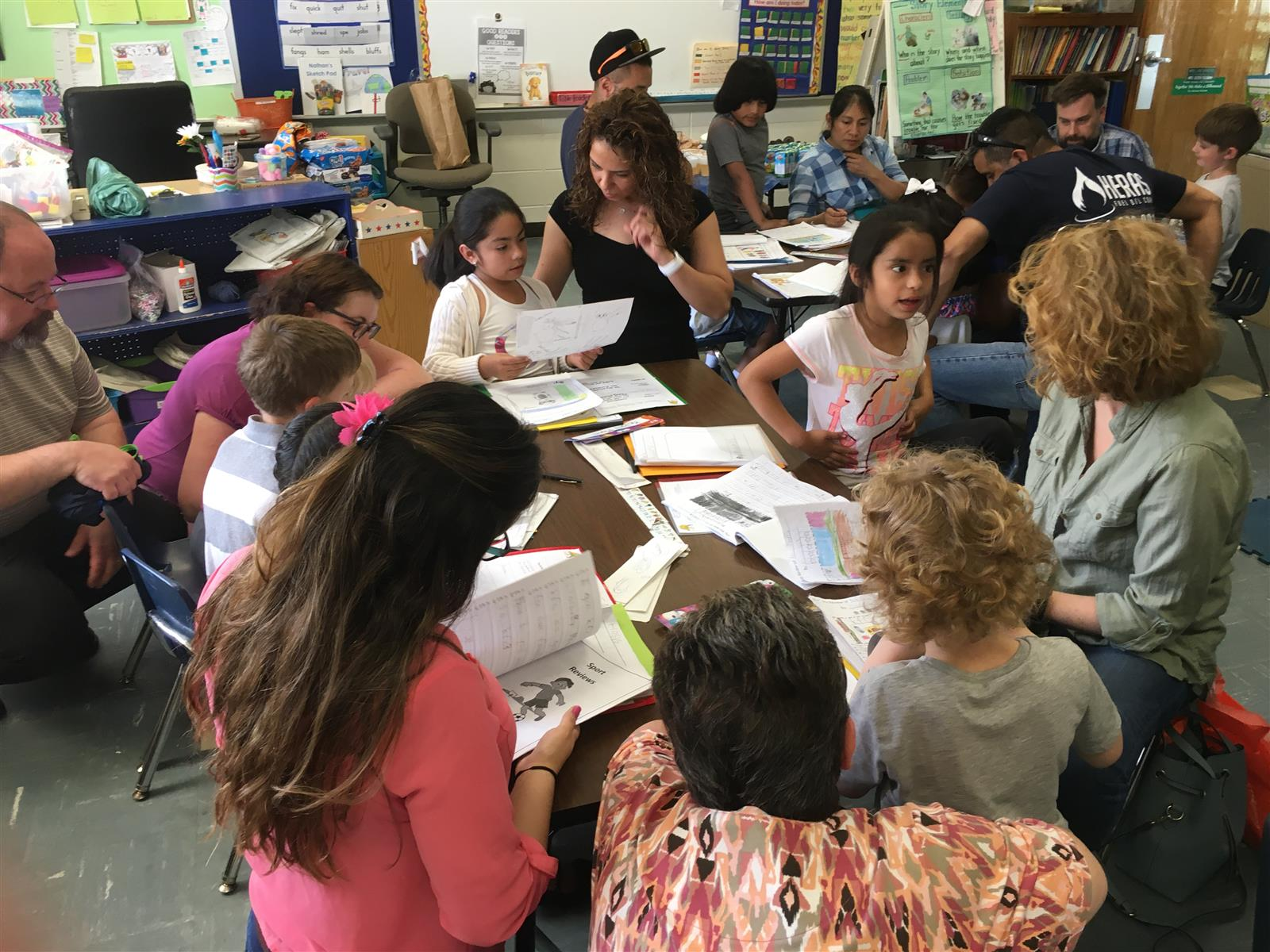 First Graders End the Year with a Writing Celebration