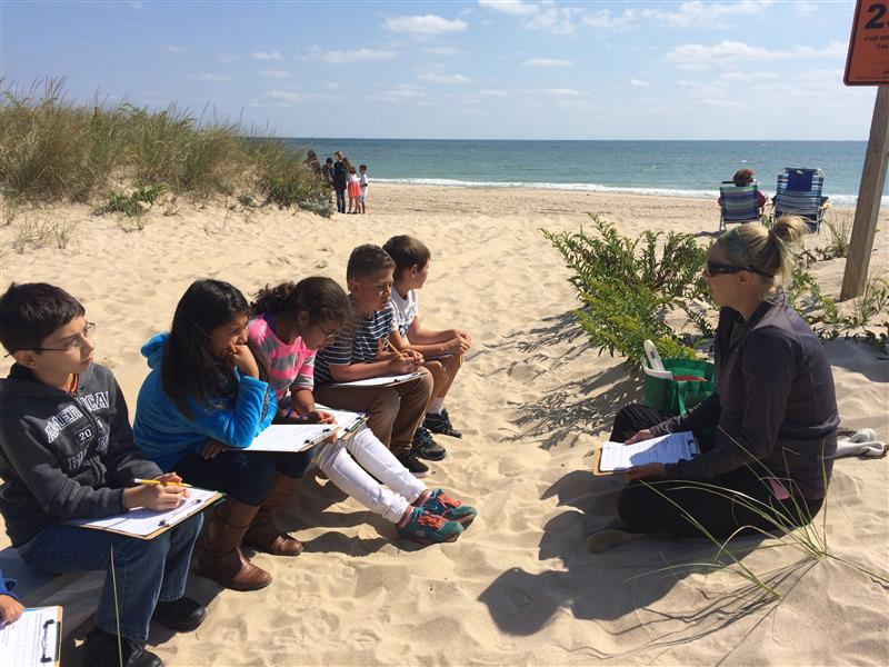 Learning Goes to the Beach!