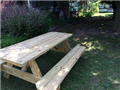 Two picnic tables were set up and dedicated to Anna's memory